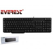 Everest KB-871U Q Türkçe USB Standart Siyah Klavye