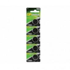GP CR2520 Düğme Pil 5'li